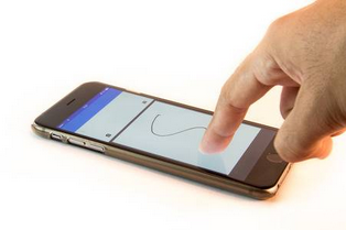 Create mobile apps use Finger signature