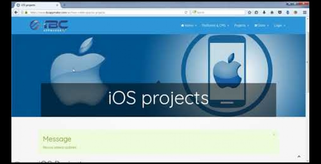 Configure iOS project